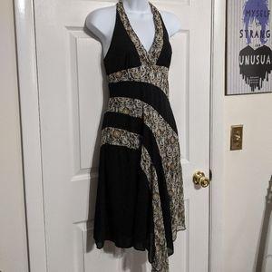 BCX Halter Dress Size M